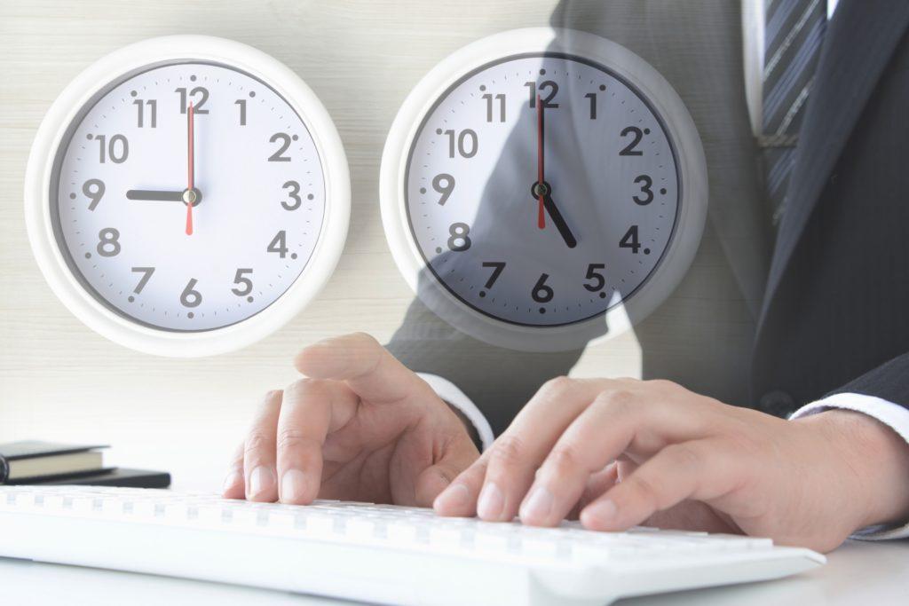 記事の作成時間