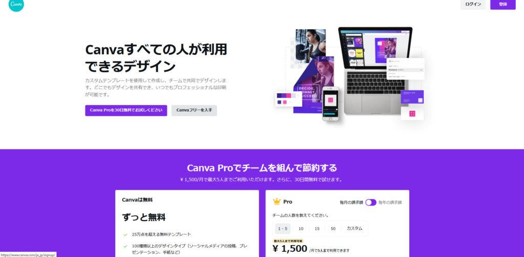 画像作成でおすすめのソフト『Canva』とは?